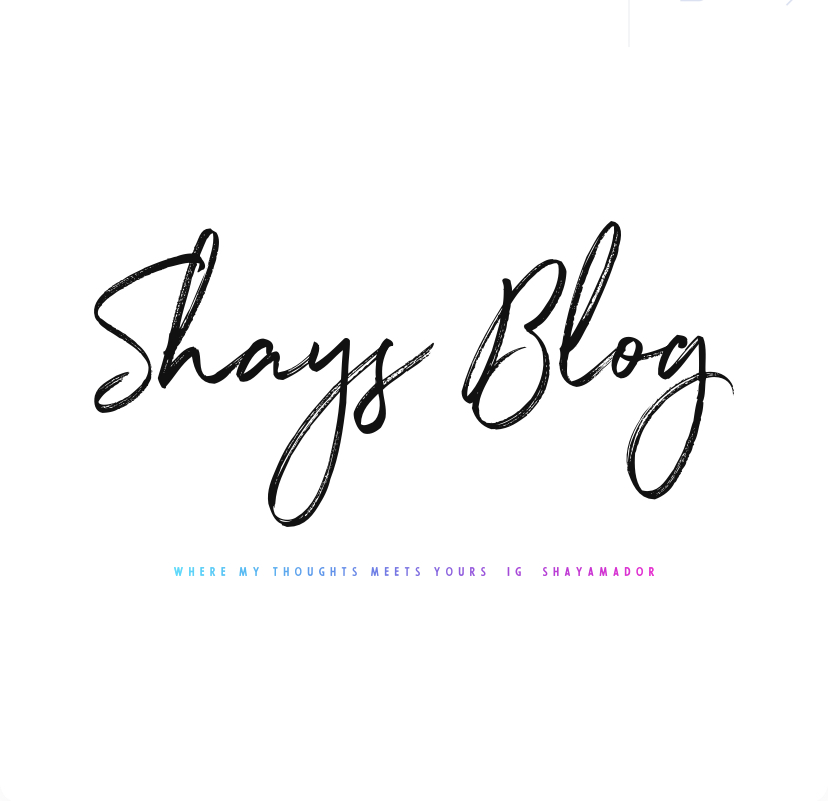 Shay's Blog